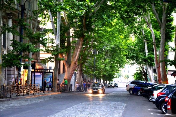 Leonidze Street Tbilisi